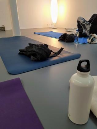 pop up yoga tribe studio K6 pre practice