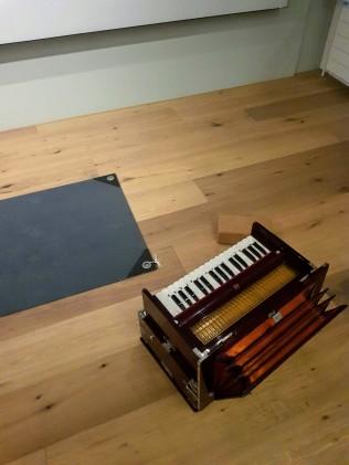 yoga culture studio harmonium