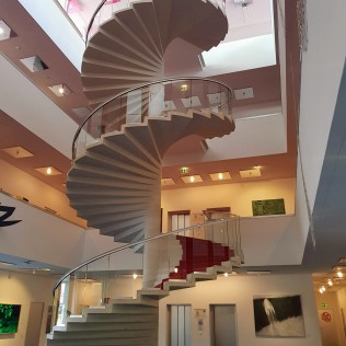 yoga tune up location staircase