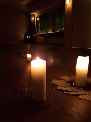 yoga with andrea - candle lights