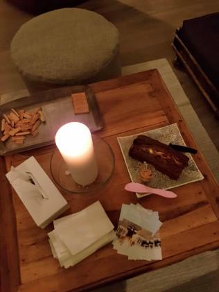 yoga with andrea - post yoga treat