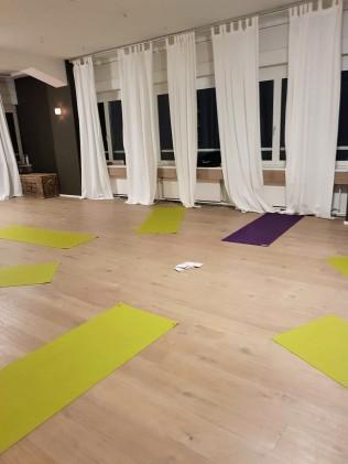 yoga with andrea - studio mats