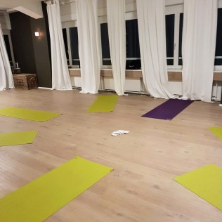 yoga with andrea - studio mats