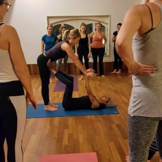 yogalovers workshop prep for airplane
