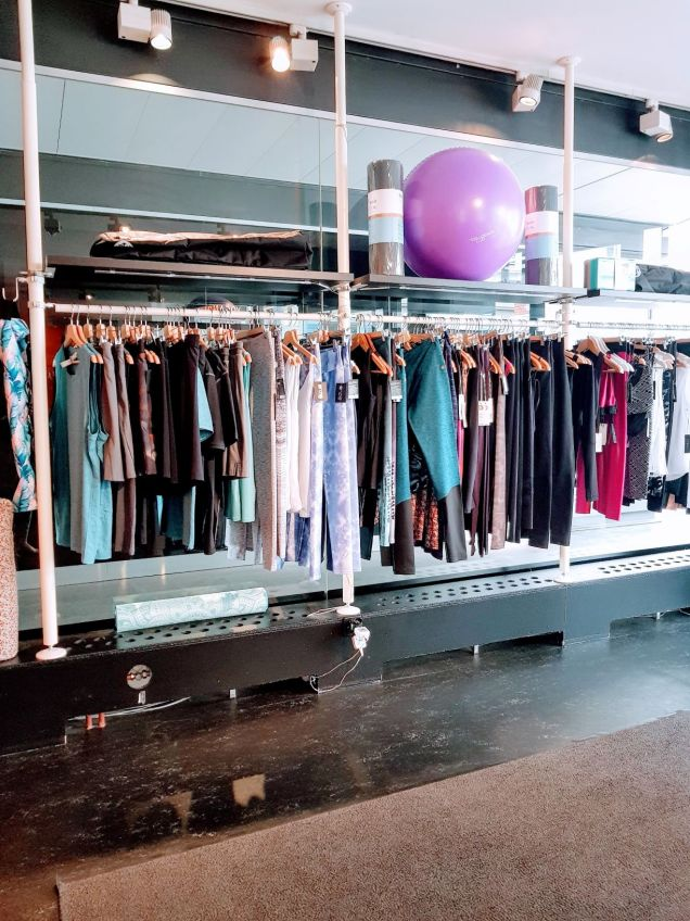 yoganation studio zurich lobby clothes