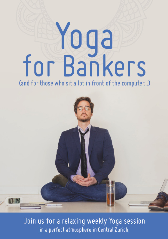 yoga for bankers - cover