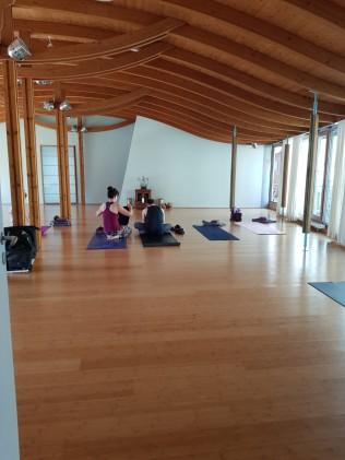 Spirit Yoga Berlin - Practice room entrance
