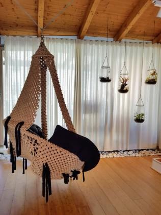 Spirit Yoga Berlin - Waiting room swing