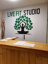 Live Fit Studio - Entrance