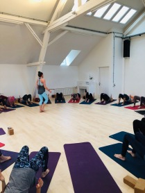 STAMBHA Yoga - Mary teaching