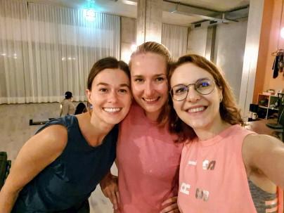 Yoga in a Bag - Post Katonah glow with Marta and Malwina