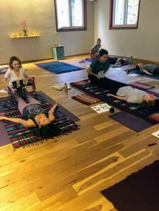 Thai Yoga Massage Workshop with Nicoleta at Sanapurna 1