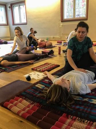 Thai Yoga Massage Workshop with Nicoleta at Sanapurna 7