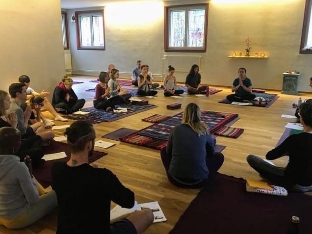 Thai Yoga Massage Workshop with Nicoleta at Sanapurna 4