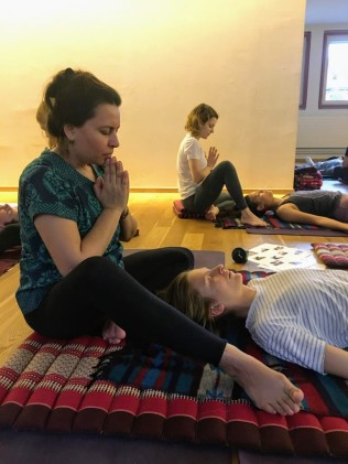 Thai Yoga Massage Workshop with Nicoleta at Sanapurna 3