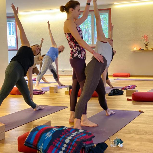 Florinas class - Final teaching exam at Sanapurna Yoga Zurich 5