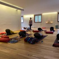 Florinas class - Final teaching exam at Sanapurna Yoga Zurich 3