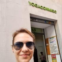 Yogaconmigo Madrid - Selfie pre class