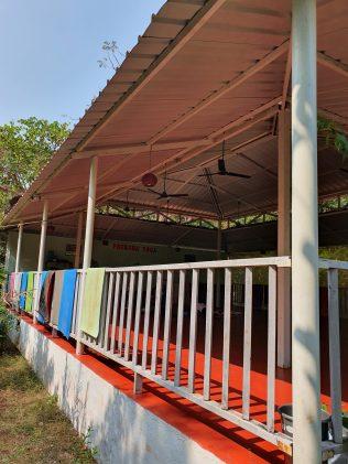 Preksha Yoga Ashram Goa - Pavilion side