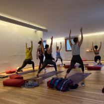 Florinas class - Final teaching exam at Sanapurna Yoga Zurich 4