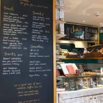 triyoga London Soho Cafe