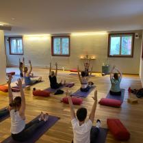 Florinas class - Final teaching exam at Sanapurna Yoga Zurich 1
