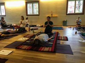 Thai Yoga Massage Workshop with Nicoleta at Sanapurna 2